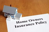 picture of policy  - An insurance policy is an asset for any home owner - JPG