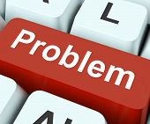 Problem Key Means Difficulty Or Trouble.