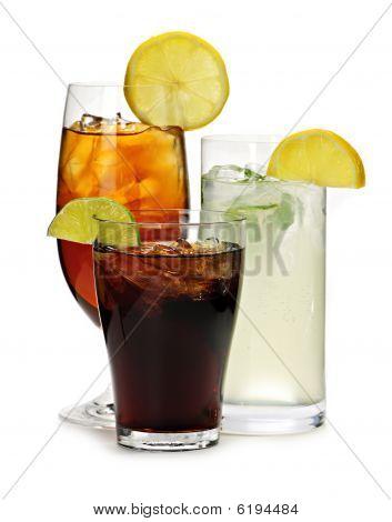 Постер, плакат: Безалкогольные напитки, холст на подрамнике