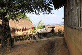 Local village in northern path Thailand