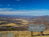 Purgatory Mountain Overlook - Blue Ridge Parkway