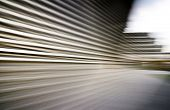 Abstract motion blurred urban background