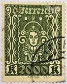 AUSTRIA - CIRCA 2000: Stamp printed in Austria dedicated to Krone circa 2000