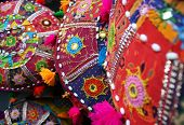Colorful Handmade Indian Cushions
