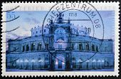 GERMANY- CIRCA 2003: stamp printed in Germany shows Opera House Dresden circa 2003.