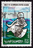 Postage Stamp Tunisia 1982 Oceanic Enterprise Symposium, Tunis