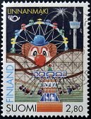 FINALND - CIRCA 1995: A stamp printed in Finland dedicated to fairground circa 1995