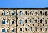 Palazzo Pretorio Facade, Volterra, Tuscany, Italy