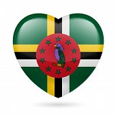 Heart icon of Dominica