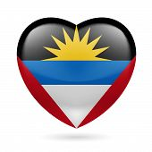 Heart icon of Antigua and Barbuda
