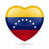Heart icon of Venezuela