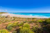 Menorca Platja de Binigaus beach Mediterranean paradise in Balearic islands