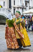 Venetian Couple Dancing