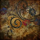 Art Grunge Vintage Abstract Background