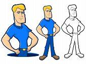 Blue Collar Character Set