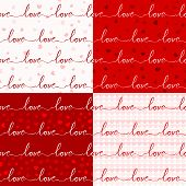 various love pattern