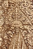 Bas-relief At Banteay Srei
