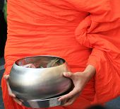 Buddhist Monk's Alms Bowl, Thailand