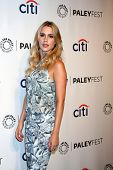 LOS ANGELES - MAR 22:  Claire Holt at the PaleyFEST 2014 -