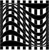 Optical illusion background