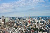 View Of Tokyo Town
