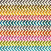 Seamless Abstract Colorful Toothed Zig Zag Paper Background