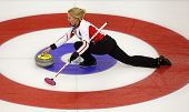 Curling Women Denmark Svensen House Rock