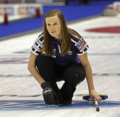 Curling Women Scotland Kerry Barr