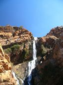 Rocky African Waterfall