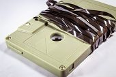Audio Cassette tape - Retro Styled