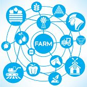 farm and agriculture concept