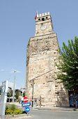 Historic Clock tower, Antalya, Turkey