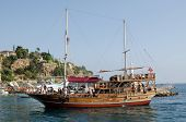 Tourist Ship, Antalya, Turkey