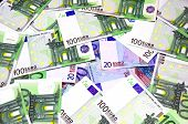 One Hundred And Twenty Euro Banknotes
