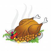 Turkey Happy Thanksgiving Day