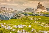 Tre Cime Di Lavaredo In Cortina D'ampezzo, - Dolomites, Italy