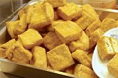 Stinky tofu - very famous snack