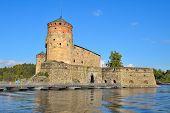 Fortress Olavinlinna. Finland