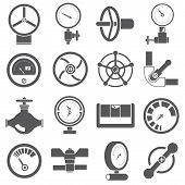 gauge and meter icons