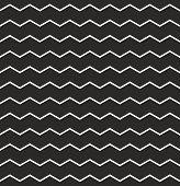 Zig zag vector chevron pattern