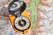 Open Compass On The Maps.