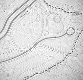 picture of geodesic  - Topographic map background - JPG