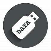 flash drive button.