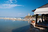 Fokea Summer Resort At Kassandra Of Halkidiki Peninsula In Greece
