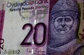 Постер, плакат: Robert the Bruce Banknote Scotland