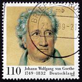 Postage Stamp Germany 1999 Johann Wolfgang Von Goethe