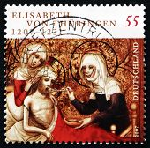 Postage Stamp Germany 2007 St. Elizabeth Of Hungary