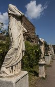 Headless Marble Statues