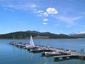 Lake Dillon With Boats