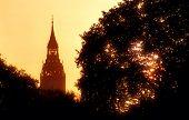 London sunrise with Big Ben